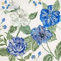 Italian Floral Theme I Framed Print