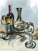 Wine with Dinner II Fine Art Print