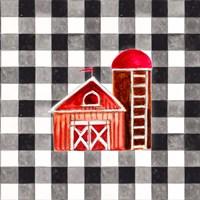 Fun Farm Icon I Framed Print