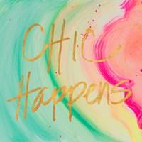 Chic Glitter I Fine Art Print