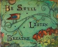 Be Still Bird Fine Art Print