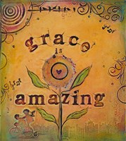 Grace is Amazing Fine Art Print