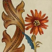 Square Wildflowers I Framed Print