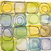 Circular Square II Framed Print