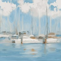 Golf Harbor Boats I Fine Art Print