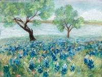 Green Fields I Fine Art Print