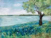 Green Fields II Fine Art Print