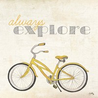 Explore and Adventure I Framed Print