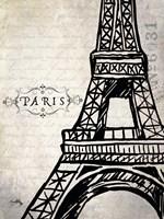 Paris Eiffel Fine Art Print