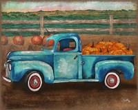 Truck Harvest I Framed Print