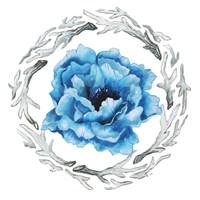 Blue Flower I Framed Print