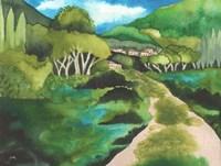 Small Village I Fine Art Print