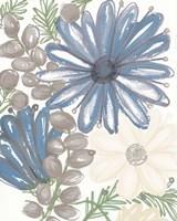 Hidden Floral II Framed Print