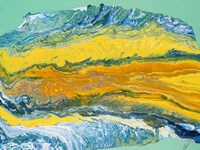 Yellowstone Framed Print