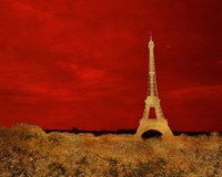 Red Paris Fine Art Print
