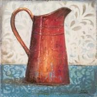 Red Pots II Fine Art Print