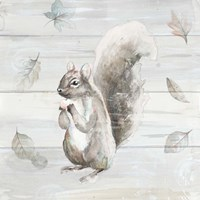 Neutral Squirrel Fine Art Print
