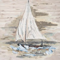 Rough Sailing I Fine Art Print