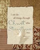 Lord is my Strength Fine Art Print