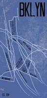 BKLYN Grid Panel Fine Art Print