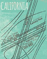 California Roads Framed Print