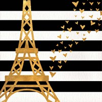 Eiffel Tower Love Fine Art Print