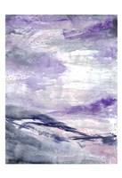 Purple Wind 1 Framed Print