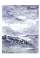 Purple Wind 2 Framed Print