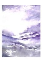 Purple Wind 3 Framed Print