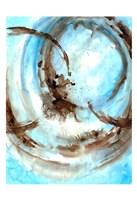 Blue Blowout Fine Art Print