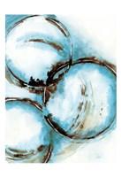 Blue Blowout 5 Fine Art Print