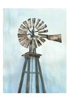 Lonely Windmill Fine Art Print