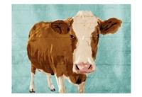 Brown Cow Now Fine Art Print
