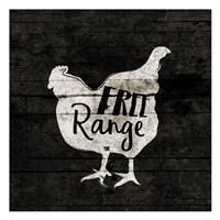 Free Range Framed Print