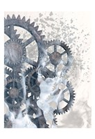 Smoke Gears 1 Fine Art Print