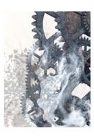 Smoke Gears 2 Framed Print