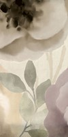 Simplicity Floral Panel B Framed Print