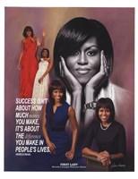 Michelle Obama Fine Art Print