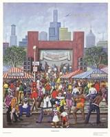 Summer Festival Fine Art Print