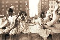 Hot Summer in the City, 1940 Fine Art Print