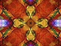 Colorful Kaleidoscope 10 Fine Art Print
