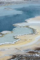 Pool Detail, Yellowstone National Park Fine Art Print