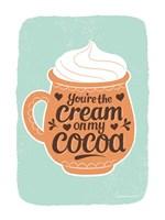 Cream on My Cocoa Fine Art Print