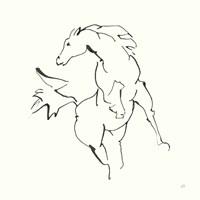 Line Horse VIII Fine Art Print