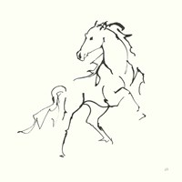 Line Horse IV Fine Art Print