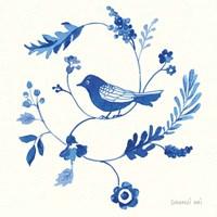 Songbird Celebration III Framed Print