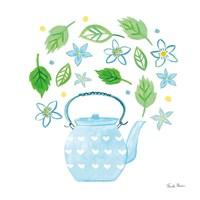 Organic Tea III Framed Print