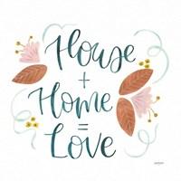 Home Sweet Home III Framed Print