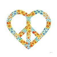 Peace and Love II Fine Art Print