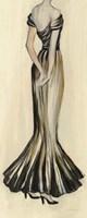Evening Gown I Crop Framed Print